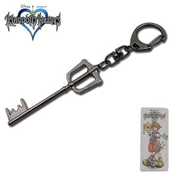 Amazon.com: Kingdom Hearts II Sora Keyblade llavero cadena ...
