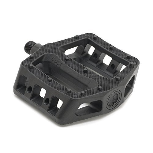 """Cult Bikes PC 9/16"""" Black Bicycle Pedals"""