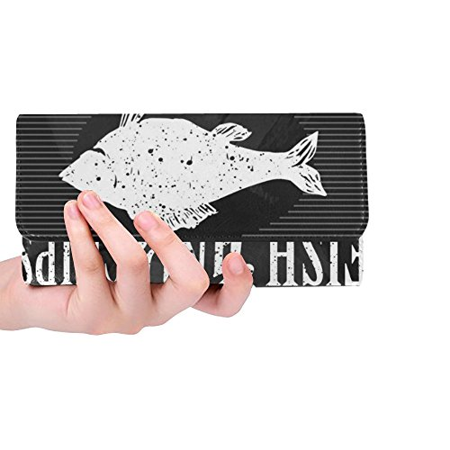 Trifold Long Silly Wallets Menu Work Meow Custom Wallet Clutch Octopus Great Dot Women's Women's Gift P8fnzFPr