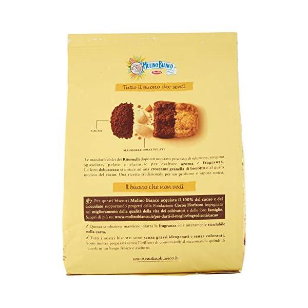 Mulino Bianco Biscotti Ritornelli con Cacao e Mandorle per una Colazione Gustosa - 700 g 3 spesavip