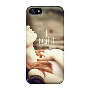 Fashion Cases For Iphone 5/5s- I Quit Defender Cases Covers