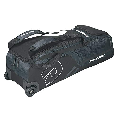 DeMarini Momentum Wheeled Bag, Charcoal (Renewed)