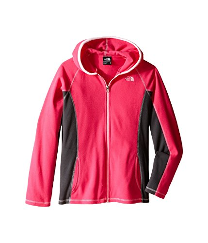 The North Face Glacier Full Zip Hoodie Girls' Cabaret Pink Large by The North Face