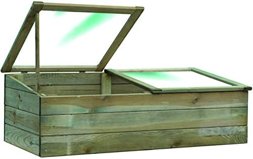 Blinky 7972310 invernaderos de madera con doble apertura ...