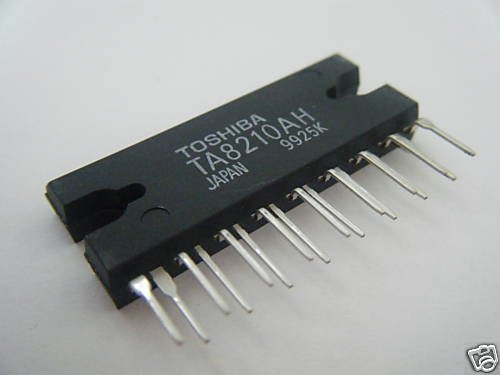 TA8210AH 20W BTL*2ch Audio Power Amplifier By TOSHIBA