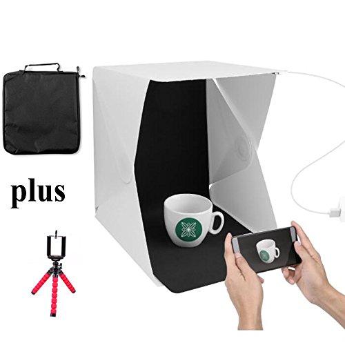 USB Mini Foldable LED Light (White) - 1