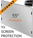 55 inch Vizomax TV Screen Protector for LCD, LED, OLED & QLED 4K HDTV