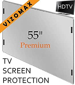 55 inch Vizomax TV Screen Protector for LCD, LED or Plasma HDTV