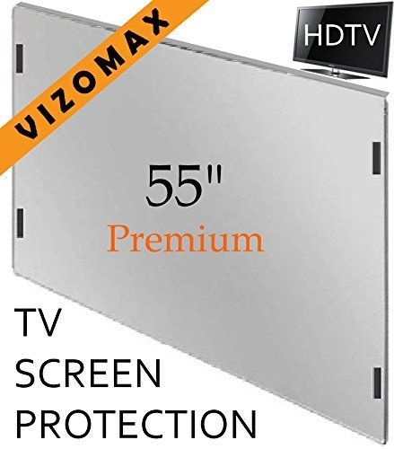 (55 inch Vizomax TV Screen Protector for LCD, LED, OLED & QLED 4K HDTV)