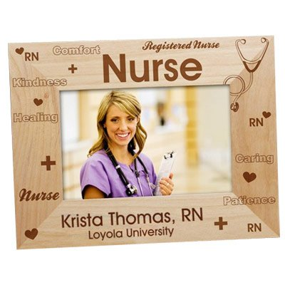 amazon com registered nurse personalized picture frame engraved