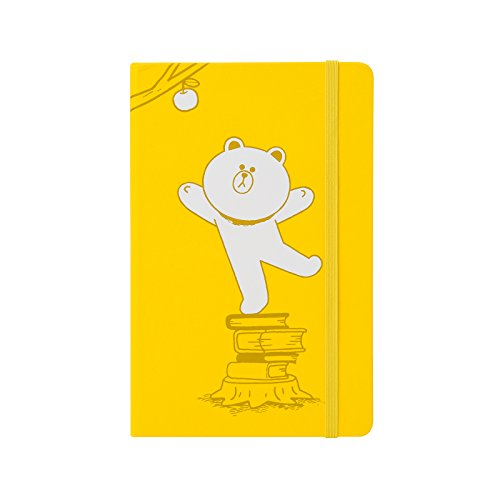 Brown Moleskin (LINE FRIENDS Brown and Sally Moleskin Standard Note Large Yellow)