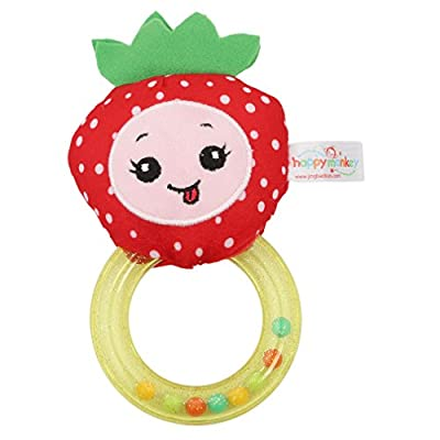 Meolin Soft Ring Rattle for Newborn Infant Newborn Baby Toys