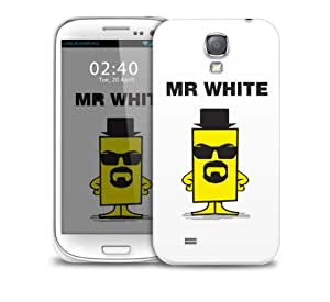 Mr White Heisenberg Samsung Galaxy S4 GS4 protective phone case