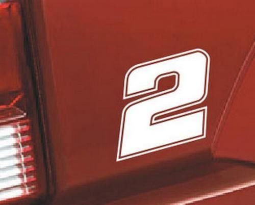 Nascar Number 2 Racing Race Vinyl Graphic Car Truck for sale  Delivered anywhere in USA