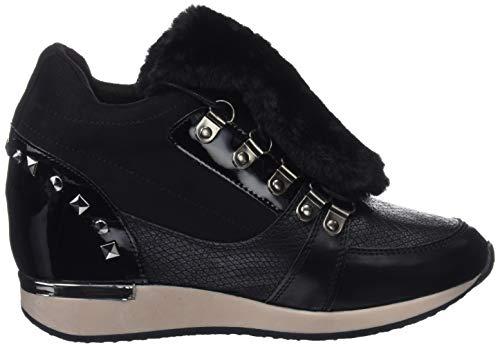 41568 Sneakers Basses Noir negro Negro Bass3d Femme OZP71RZ
