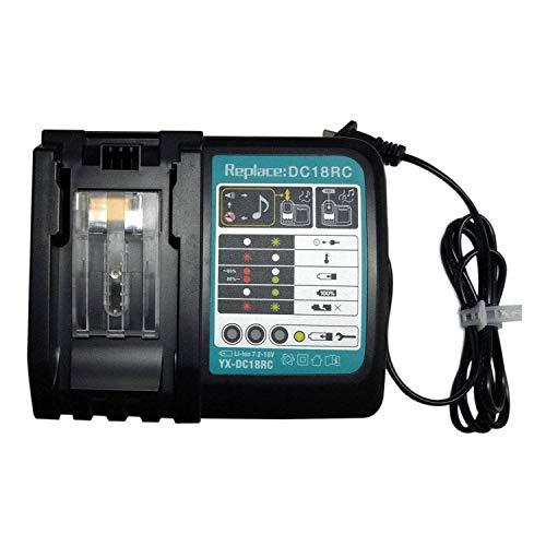 SHUTAO Carga rápida del Cargador de batería de la Herramienta eléctrica del Li-Ion de 7.2V-18V 3A para Makita