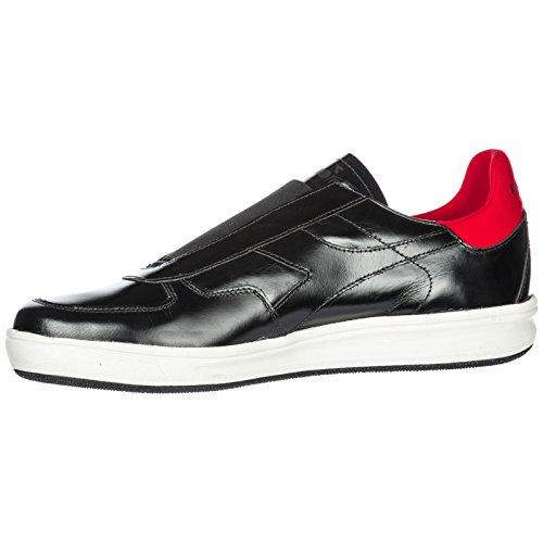 Diadora Heritage Slip on Uomo in Pelle Sneakers Nuove Originali b. Elite Nero Auténtico Clásico Aclaramiento Venta Barata Disfrutar Comprar Barato Libre AnZPMNYVm