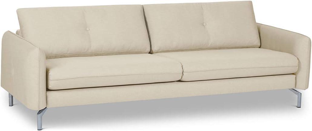 157 x 82 x 92 cm Zwei-Sitzer Stoffsofa Gepade James 2 Sofa Stoff Polyester//-mischung