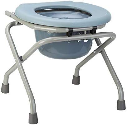 Wei Jun ベッドサイド便器椅子、シンプルな折り畳み式の便座、高齢妊婦、風呂椅子、スツール /-/-/ (Color : A)