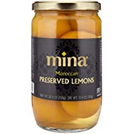 Mina Preserved Lemons, Gourmet Moroccan Beldi Lemons Preserved Naturally for an Authentic and Exotic Flavor (25.4 Ounces)