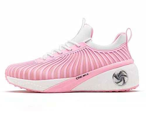 Road Dilize Women's OneMix White Slip Cushioning Pink Mesh On Sports Running Leisure Sneakers qI1UwIcWg