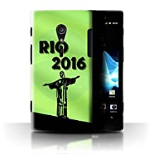 STUFF4 Phone Case / Cover for Sony Xperia ion LTE/LT28 / Green Design / Rio Olympic Collection