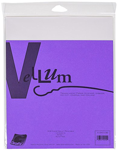 Grafix Deluxe Ink-Jet Imprintible Vellum, 30lb, ()