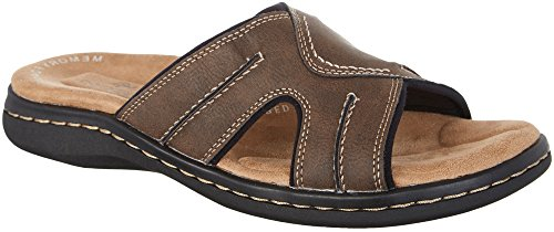 dockers-mens-sunland-slide-dark-brown-synthetic-sandals-12-dm-us