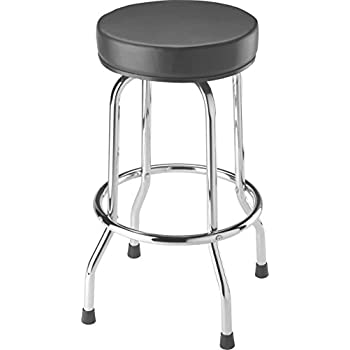 Torin Big Red Swivel Bar Stool / Shop Seat Black  sc 1 st  Amazon.com : industrial work stool - islam-shia.org