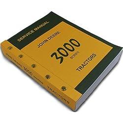 John Deere 3000 Series 3020 3010 Tractors Technical Service Manual New Print 788 Pages Diesel Gas Lp