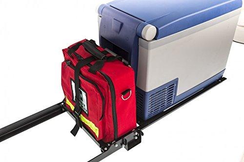 ARB 10900029 Portable Fridge/Freezer Slide Full Extension For Use w/PN[10800352] 37 Quart And PN[10800472] 50 Quart Capacity Steel Portable Fridge/Freezer Slide by ARB