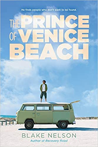 The Prince of Venice Beach by Blake Nelson front cover