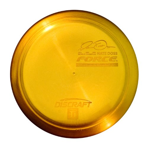 Force Disc - Discraft Force Titanium Golf Disc, Colors May Vary, 173-174gm
