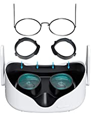 Oculus Quest 2 Glasses Spacer, Anti-Scratch Ring Protecting Myopia Glasses from Scratching VR Headset Lens