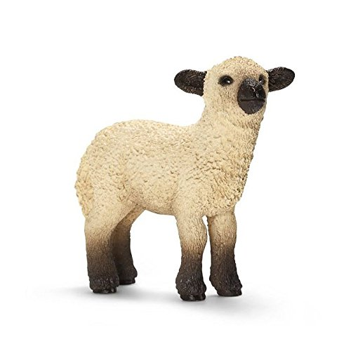 Schleich 13682 Shropshire Lamb Figurine, Black & White