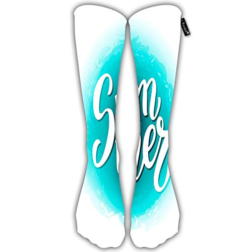 (Unisex Classic Knee High Over Calf New York Manhattan Floral 3D Print Athletic Soccer Tube Cool Fun Party Cosplay Socks)