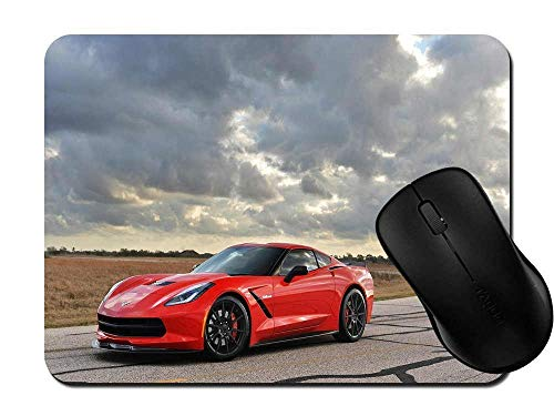 Mouse Pad Gaming Car Non-Slip Rubber Mousepad Mat for Desktops, Computer, PC and Laptops 1C1698 ()
