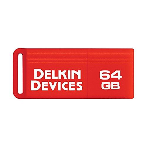 Delkin PocketFlash USB 3.0 Flash Drive, 64GB (DDUSB3-64GB) (Delkin Usb)