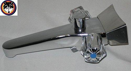 sam Mischbatterie S5 f/ür Niederdruck Badeofen mit Brausegarnitur