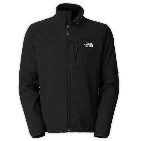 The North Face Men's Apex Pneumatic Softshell Jacket TNF BLACK/ TNF BLACK, LARGE