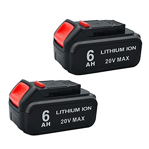 Batería de Repuesto para Dewalt 20v 6.0ah Dcb206 Pack 2