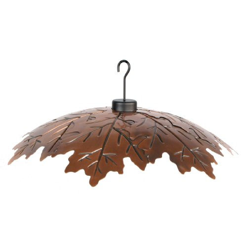 Woodlink Brushed Copper 18 Weather Shield Model COPLEAF18