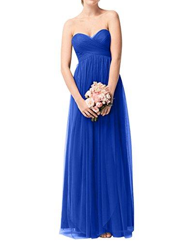 Abendkleider Lang A Damen Jugendweihe Kleider Blau La Tuell Ballkleider mia Brautjungfernkleider Linie Partykleider Royal Brau Formalkleider AacqTwY