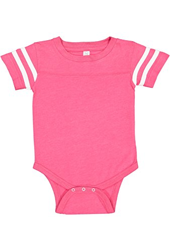 Rabbit Skins Infant Jersey Short Sleeve Football Bodysuit for sale  Delivered anywhere in USA