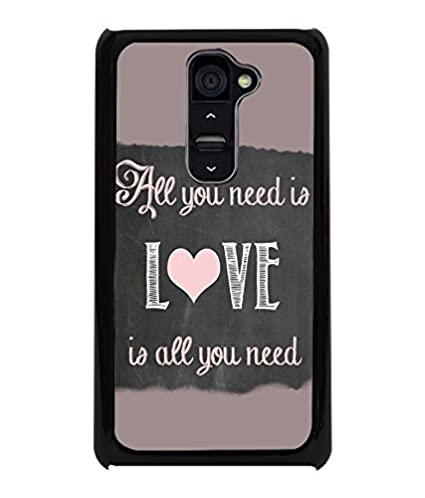 PRINTVISA Quotes Love Case Cover for LG G2: Amazon in