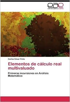 Book Elementos de cálculo real multivaluado: Primeras incursiones en Análisis Matemático