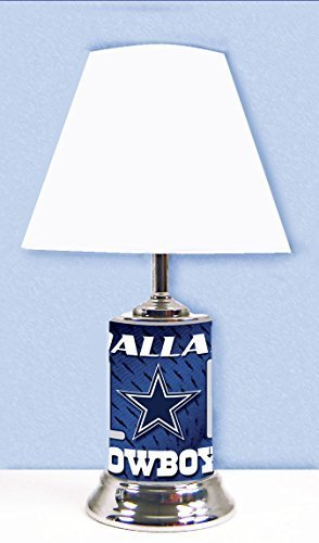 - Dallas Cowboys Table Lamp