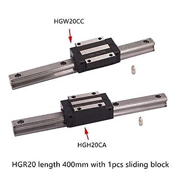 Impresora 3D – HGR20 guía lineal ancho 20 mm longitud 400 mm con ...