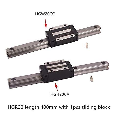 Impresora 3D - HGR20 guía lineal ancho 20 mm longitud 400 mm con ...
