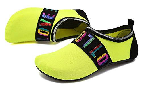 Hommes Chaussettes De Pour Sport Chaussures Piscine Aqua Exercice Nager Loveyellow Et Adituob Barefoot Nautiques Plage Femmes PYpFp6